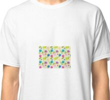 Decorative Tulips Pattern Classic T-Shirt