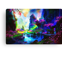 fantasy valley 4 Canvas Print