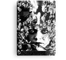 X Files Babe. Metal Print