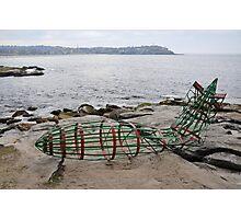 Zeppelin Crash @ Sculptures By The Sea 2012 Photographic Print