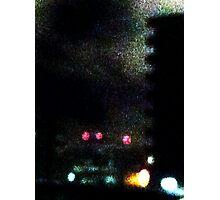 City Night Night Light Photographic Print
