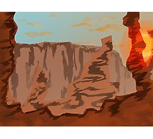 Canyon Sunset Photographic Print