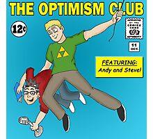 The Optimism Club Logo - Standard Photographic Print