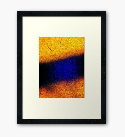 Between Noises Framed Print