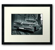 Ford Pontiac Mono Framed Print
