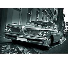 Ford Pontiac Mono Photographic Print