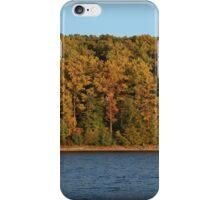 Golden Hour October Shoreline iPhone Case/Skin