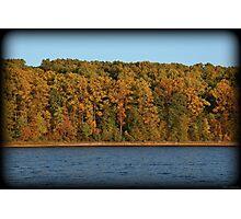 Golden Hour October Shoreline Photographic Print