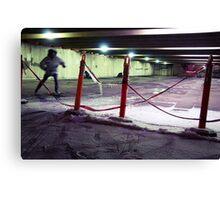 Safety Skate Canvas Print
