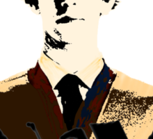 Sitting in Q's Pyjamas... Sticker