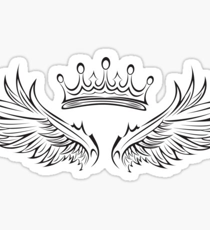 Swan Queen Symbol Sticker
