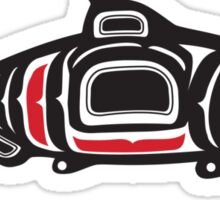 Totem Salmon Sticker
