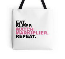 EAT, SLEEP, MARKIPLIER, REPEAT. Tote Bag