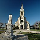 Church, Cormeray, France, Europe 2012 by muz2142