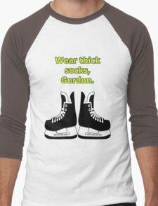Thick socks, Gordon Men's Baseball ¾ T-Shirt
