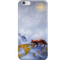 Foraging Fox iPhone Case/Skin