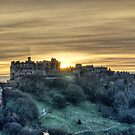 Edinburgh Castle by Chris Cherry