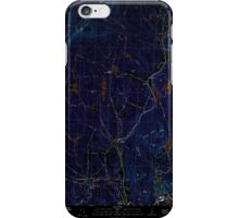 USGS TOPO Map New Hampshire NH Grantham 329582 1998 24000 Inverted iPhone Case/Skin