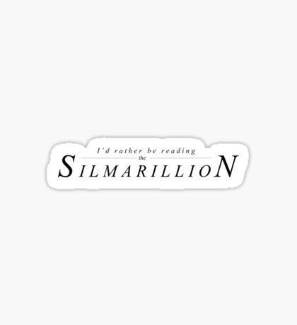 Reading the Silmarillion Sticker
