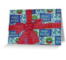 Holiday Bow Greeting Card