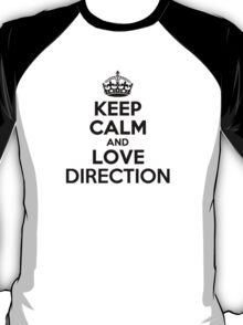 Keep Calm and Love DIRECTION T-Shirt