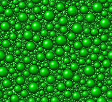 Bubbles Green by Sookiesooker