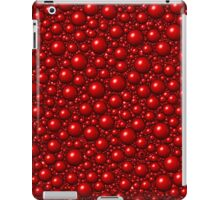 Bubbles Red iPad Case/Skin