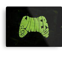 Winner Stays On Metal Print