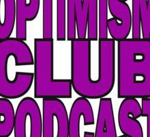 The Optimism Club - Merc & Duck Sticker