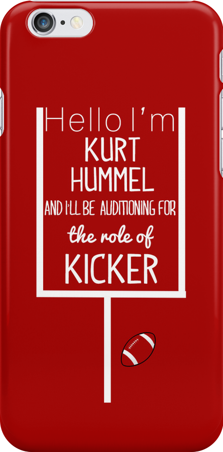 Kurt Hummel, Kicker by tlcollins402