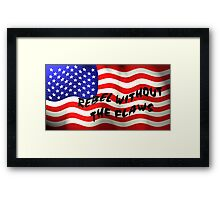 Rebel Ideals Framed Print