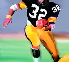 Legands Of the Game - Franco Harris by John Ryan