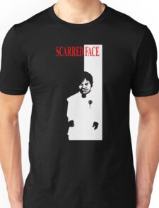Scarred Face Unisex T-Shirt