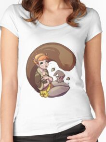 Unbeatable Squirrel Girl Women's Fitted Scoop T-Shirt