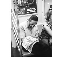 F Train Photographic Print