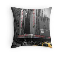 Radio City Music Hall Throw Pillow