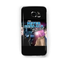 Banner for The Never Gets Old Podcast Samsung Galaxy Case/Skin
