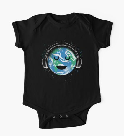 The whole planet loves music Kids Clothes