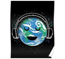 The whole planet loves music Poster