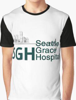 Seattle Grace Hospital Greys {FULL} Graphic T-Shirt