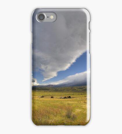 Clouds Over Cuyama iPhone Case/Skin