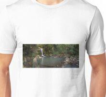 Curtis Falls Mt Tamborine Panorama Unisex T-Shirt