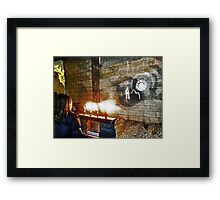 The Ghost of Cathedral's Past Framed Print
