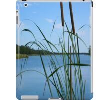 Cattail On The Lake iPad Case iPad Case/Skin
