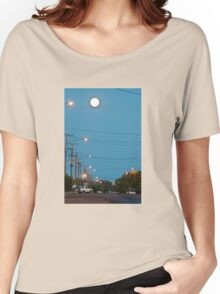 Moon over Lightning Ridge Women's Relaxed Fit T-Shirt