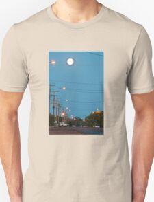 Moon over Lightning Ridge Unisex T-Shirt