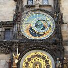 Astronomical Clock by Paula Bielnicka
