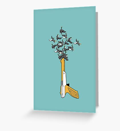 Thrill of the Hunt Greeting Card