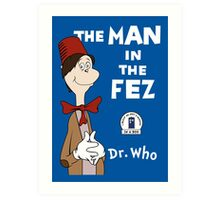 The Man In The Fez Art Print