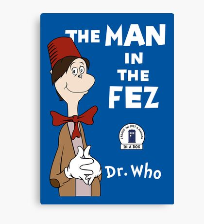 The Man In The Fez Canvas Print